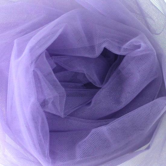 Мягкий фатин Пастель 300*25 - Светло-фиолетовый