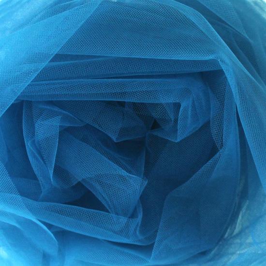 Мягкий фатин Пастель 300*25 - Глубокий синий