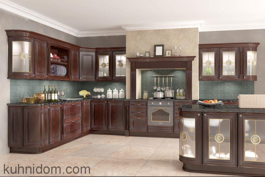 Кухня Лукреция Орех