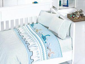 Комплект постельного белья First Choice Bamboo детское 12-GINNY MAVI