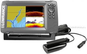 Эхолот Lowrance Hook2-7 Splitshot Us Coastal/Row (Артикул: 000-14023-001)