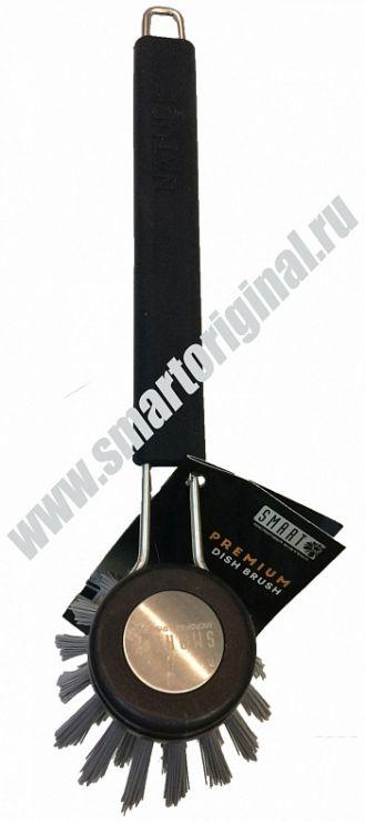 Smart Microfiber Щётка для мытья посуды чёрная серия Premium