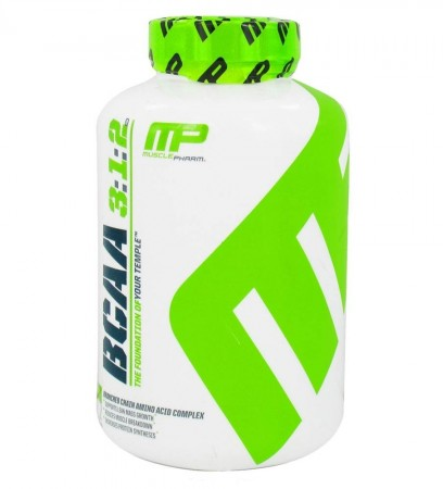 BCAA 3:1:2 от MusclePharm 240 капсул