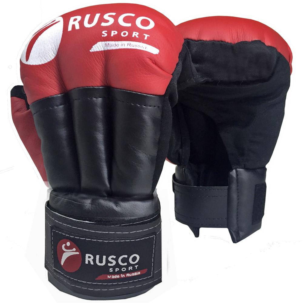 Перчатки для рукопашного боя RUSCO SPORT красные