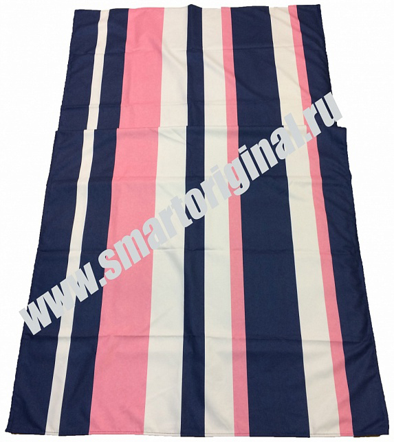 Smart Microfiber Полотенце Семейное 85 х 175 см синее/розовое
