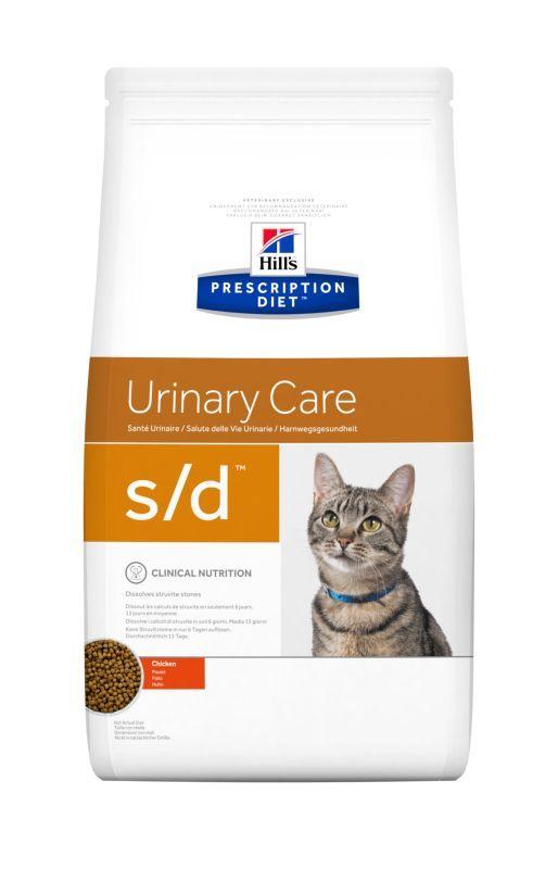 Hill`s Feline s/d  (Мочекаменная болезнь)