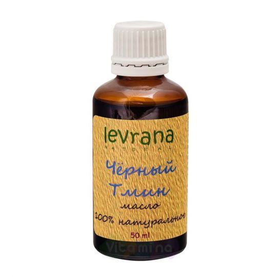 Levrana Натуральное масло Чёрного тмина, 50 мл