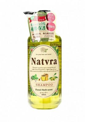 SPR Natvra Натуральный бессиликоновый шампунь сила природы для красоты волос 500 мл