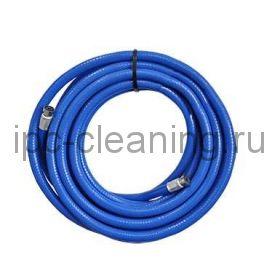Рукав синий для пеногенератора 15м с коннекторами