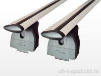 Багажник на крышу Haval H6 2014-..., Lux, крыловидные дуги на интегрированные рейлинги