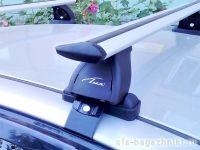 Багажник на крышу Ravon R2 2016-..., Lux, крыловидные дуги
