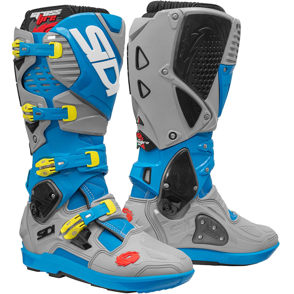 Sidi - Crossfire 3 SRS Limited Edition Light Blue Ash мотоботы, светло-синие