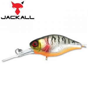 Воблер Jackall Diving Chubby 38F 38 мм / 4,3 гр / Заглубление: 1 - 1,5 м / цвет: uv mat silver tiger