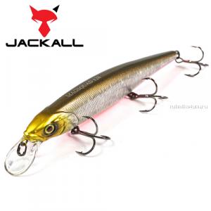 Воблер Jackall Mag Squad 128SP 128 мм / 21 гр / Заглубление: 1 - 1,5 м / цвет: blackredbelly/magmahl