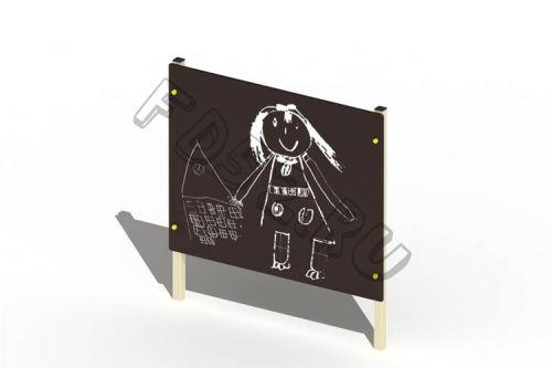 Стенка для рисования                                           1500х110х1500