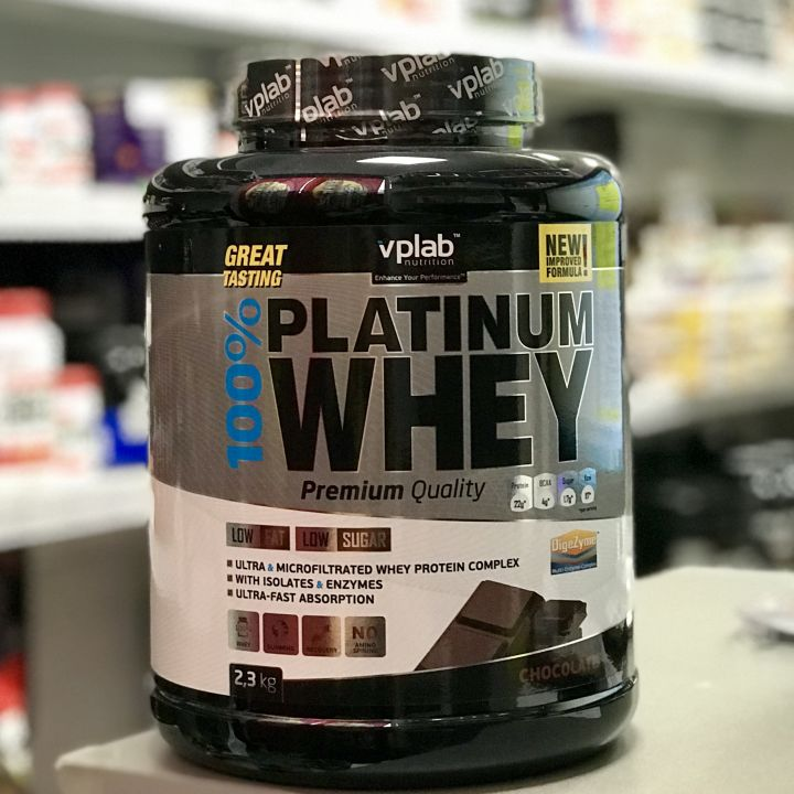 VPlab Nutrition - 100% Platinum Whey (2300 г)