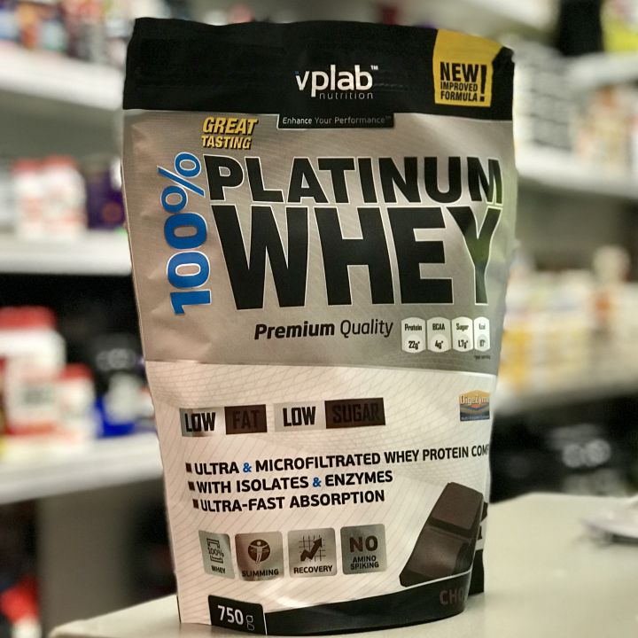 VPlab Nutrition - 100% Platinum Whey (750 г)