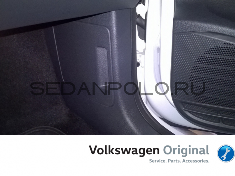 Накладка с карманом VAG под жилет Volkswagen Polo Sedan