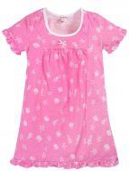 Сорочка для девочек 7-11 лет Bonito BK1219P розовая