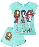 Комплект для девочек 4-8 лет Bonito BK004FS10