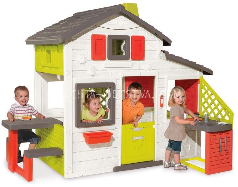 Домик для друзей с кухней и звонком 810200