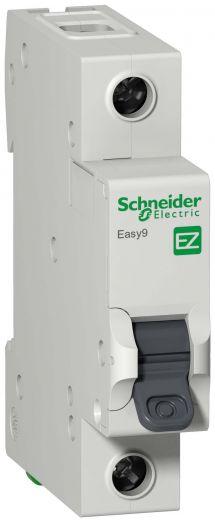 Автоматический выключатель EASY9 1п 16А С 4,5кА 230В