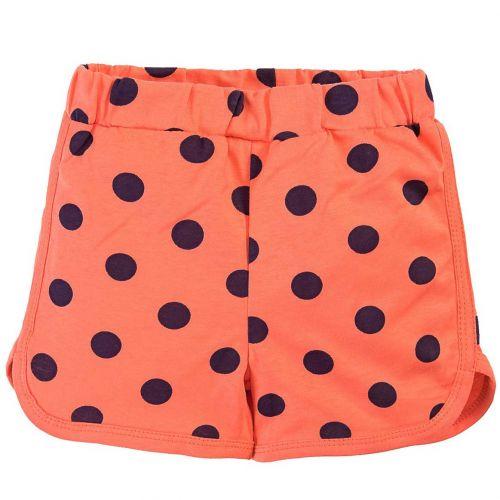 Шорты для девочек 5-8 лет Bonito BK1266SH оранжевые