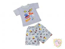 "Костюм для мальчика: футболка 2 кн., шорты kA-KS069(2)-SUr (супрем марсианин) код 01774 оптом ""Мамин Малыш"""