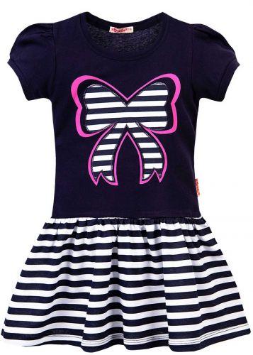 Платье на девочки 3-7 лет Bonito BK1170P темно-синий