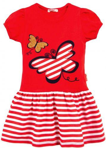 Платье на девочки 3-7 лет Bonito BK1170P красный