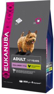 EUK Dog корм для взрослых собак мелких пород