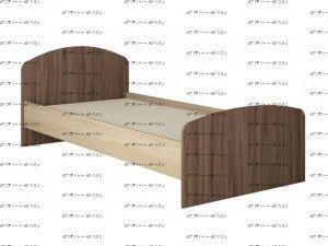 Кровать Орион (90х200)