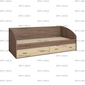 Кровать с ящиками Орион (80х186)