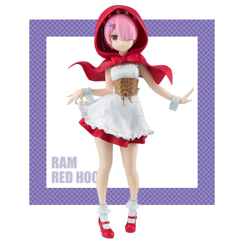 Аниме фигурка Re:ZERO - Рам Ram Red Hood