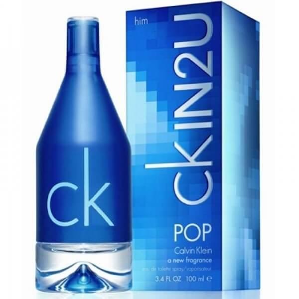 Calvin Klein Туалетная вода CK IN2U Pop Him, 100 ml (Man)