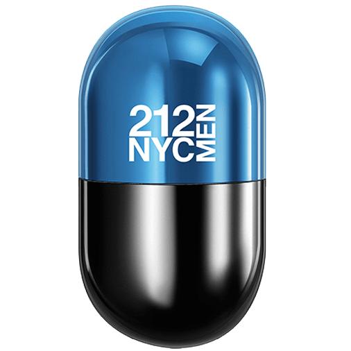 Carolina Herrera Туалетная вода NYC Men Pills, 80 ml (Man)