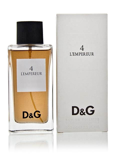 Dolce and Gabbana Туалетная вода 4 L'Empereur, 100 ml (Man)