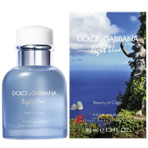 Dolce and Gabbana Туалетная вода Light Blue Pour Homme Beauty of Capri , 125 ml (Man)