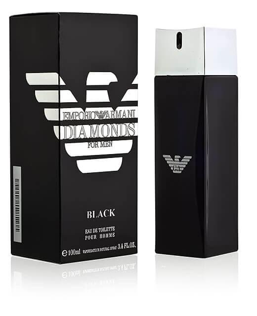 Giorgio Armani Туалетная вода Emporio Armani Diamonds Black for Men, 100 ml (Man)