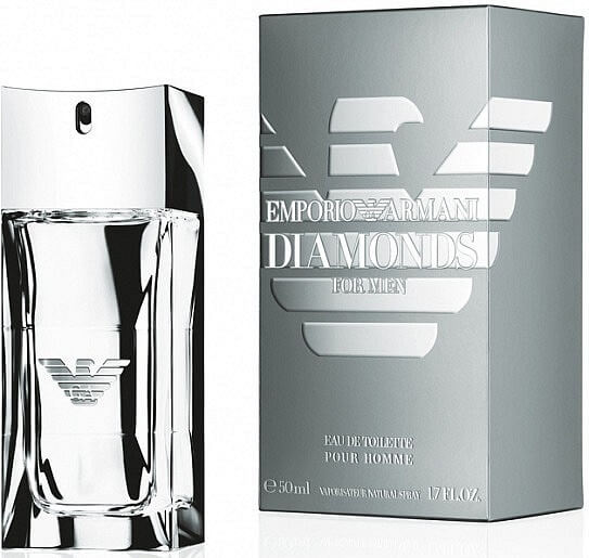 Giorgio Armani Туалетная вода Emporio Armani Diamonds for Men, 100 ml (Man)