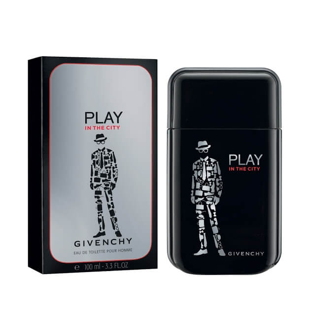 Givenchy Туалетная вода Play in the City for him, 100 ml (Man)