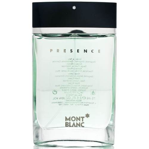 Mont Blanc Туалетная вода Presence, 75 ml (Man)