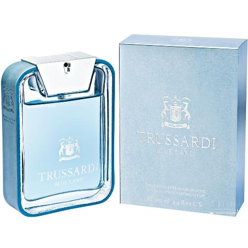Trussardi Туалетная вода Blue Land, 100 ml (Man)