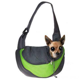 Сумка-переноска для кошек и мелких пород собак, Цвет: Зелёный