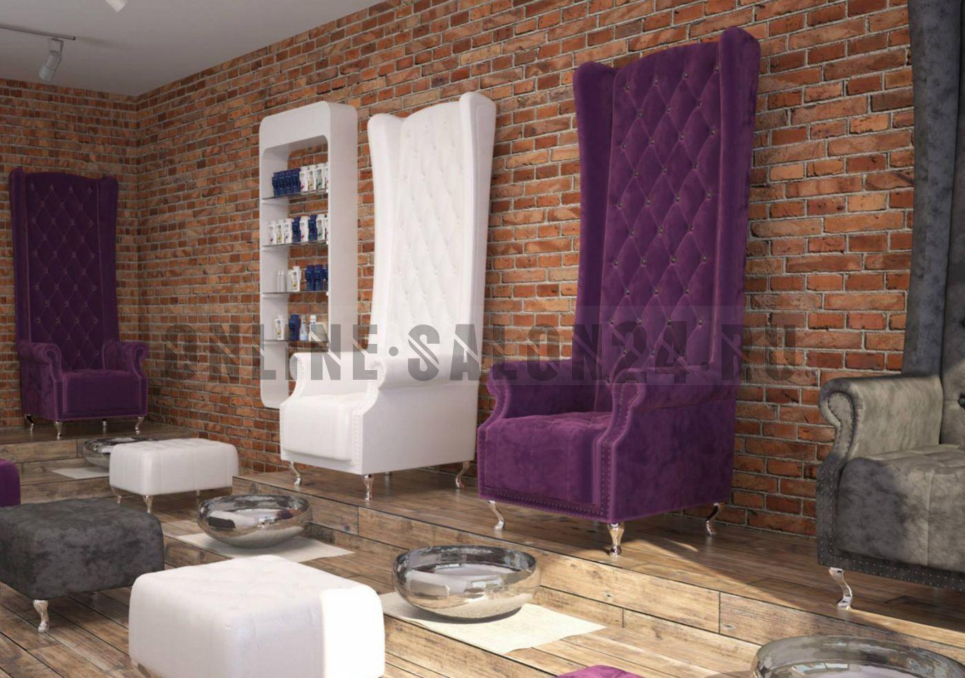 Педикюрное кресло-трон Тиволи