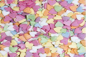 Посыпка  Сердечки разноцветные 50 гр.