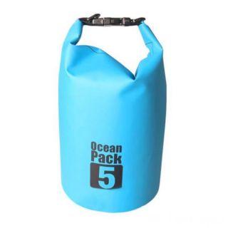 Водонепроницаемая сумка-мешок Ocean Pack, 5 L, Цвет: Голубой