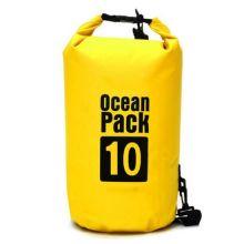 Водонепроницаемая сумка-мешок Ocean Pack, 10 L, Цвет: Желтый