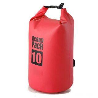 Водонепроницаемая сумка-мешок Ocean Pack, 10 L, Цвет: Красный