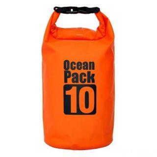Водонепроницаемая сумка-мешок Ocean Pack, 10 L, Цвет: Оранжевый